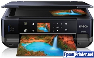 How to reset Epson Artisan 600 with software