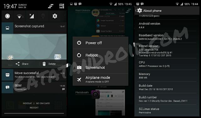 Download Rom CM11 Redmi Note Prime HMNote1s gucci Kitkat 4.4