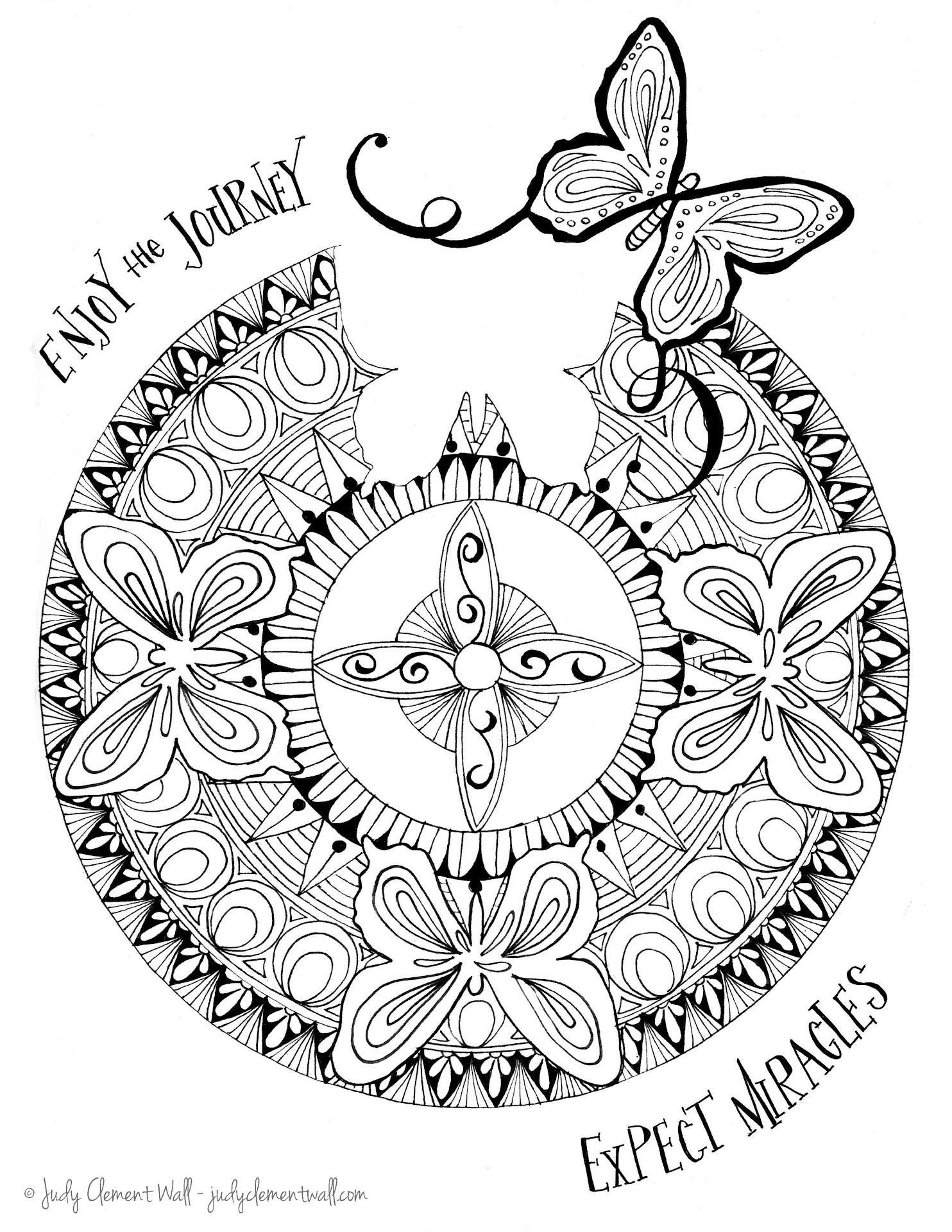 free butterfly mandala coloring pages - hd butterfly mandala coloring pages free