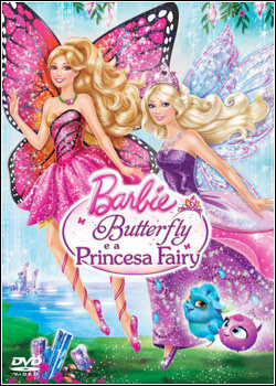 7 Download   Barbie Butterfly e a Princesa Fairy   DVDRip AVI + RMVB Dublado
