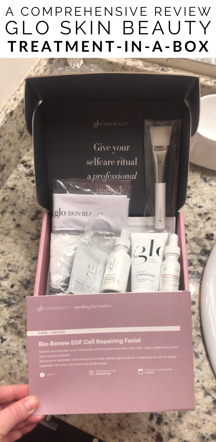 Glo Skin Beauty Treatment in a Box Home Facial Review