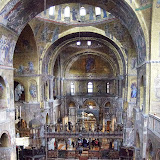 70. Interior of the Patriarchal Cathedral Basilica of Saint Mark. XI Century. Venice. 2013