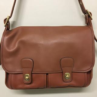 Coach Cognac Briefcase