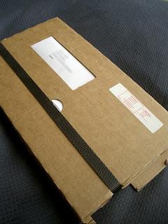 ストックフォルムからの郵便物