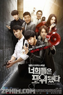 Chạy Đâu Cho Thoát - You Are All Surrounded (2014) Poster