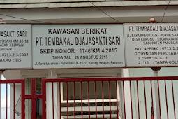 "Bertulisan Upah di Bayar di Bawah UMK, Di Duga PT. Tembakau Djajasakti Sari""TDS"" Tidak Patuh Hukum"