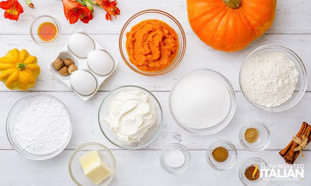 pumpkin swiss roll ingredients
