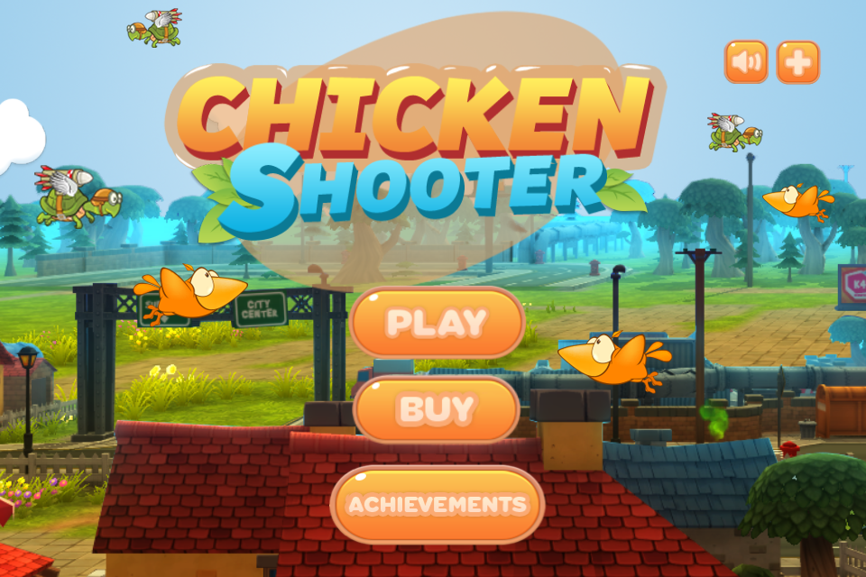 Chicken Shooter- screenshot