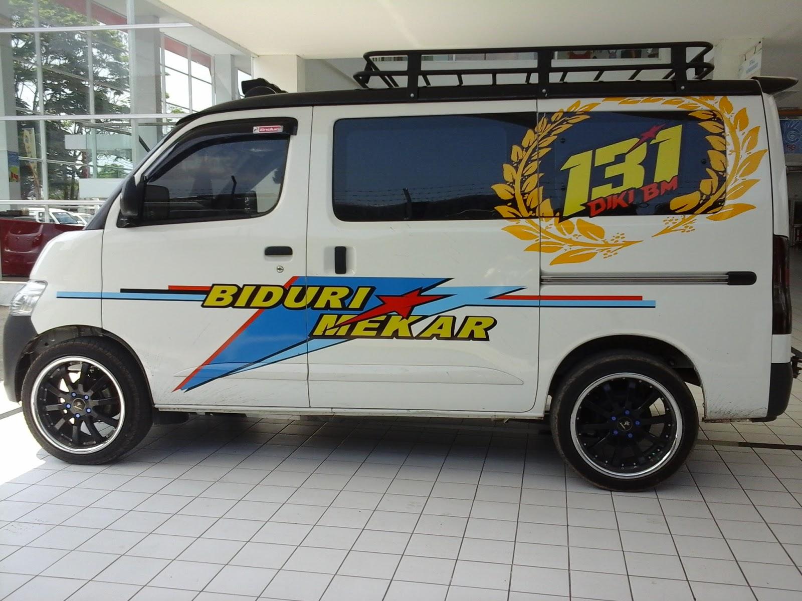 Top Gambar Cutting Sticker Mobil Pick Up Terbaru