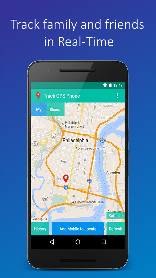 Screenshots of Track GPS Mobile Phone for iPhone