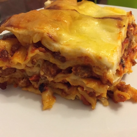 Sehr leckere Lasagne