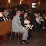 battesimo in parrocchia 10-4- 2006