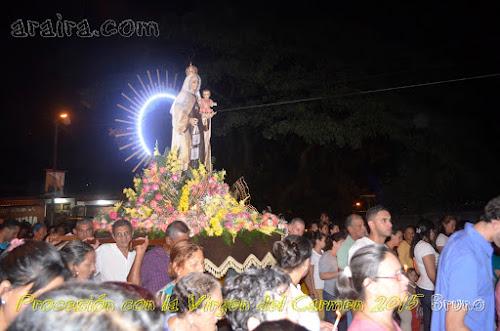 Procesion con la Virgen del Carmen