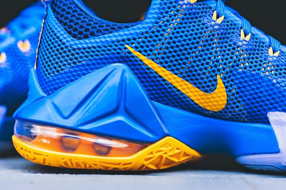 premium selection 6b0f3 a13f0 ... 8220Entourage8221 Available Now Nike LeBron XII 12 Low  8220Entourage8221 ...