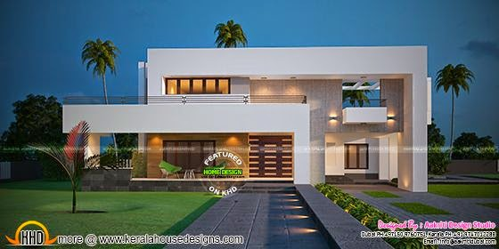 3600 sq-ft modern villa