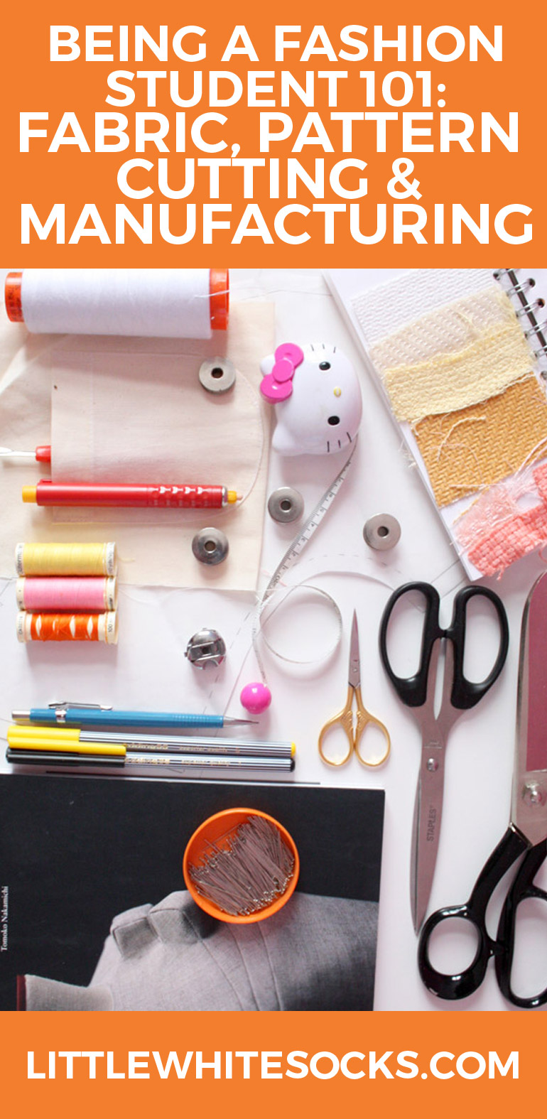 being a fashion student fabric pattern cutting manufacturing
