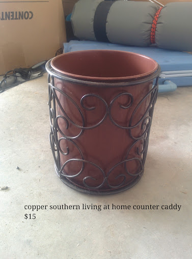 Souther Living at Home Copper Utensil Caddy