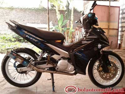 New Jupiter MX Modifikasi