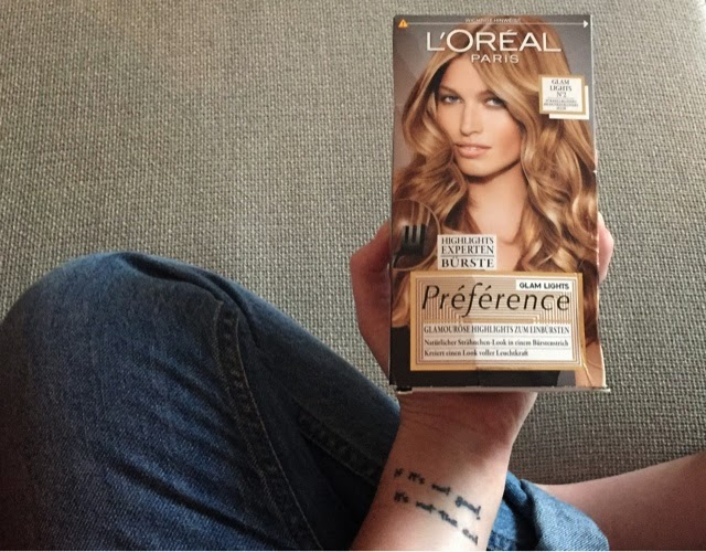 Christinalily L Oreal Preference Glam Lights