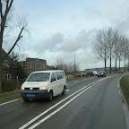 VW Busje van Besseling met de aflos chaffeurs