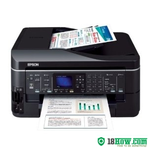 How to Reset Epson PX-603F printer – Reset flashing lights problem