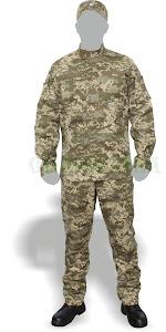 Польова форма одягу військовослужбовців Збройних Сил України