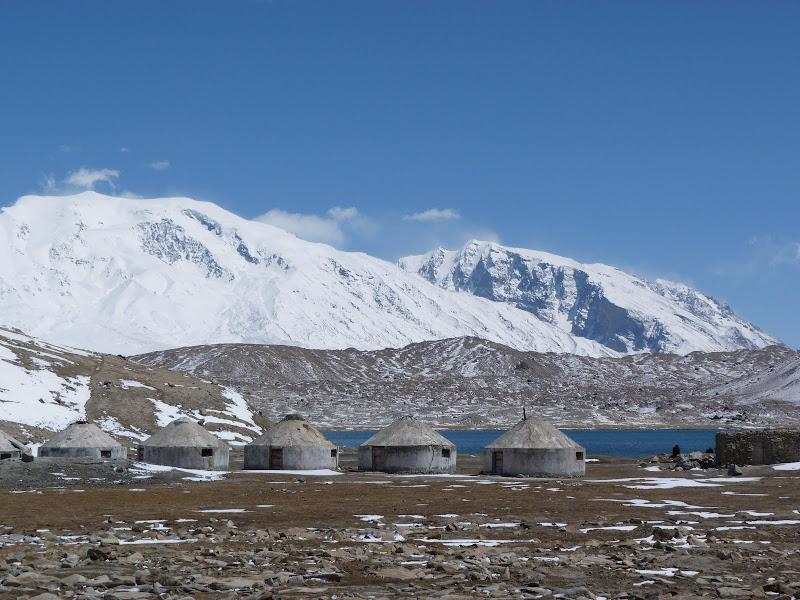 Habitations Tadjik en béton