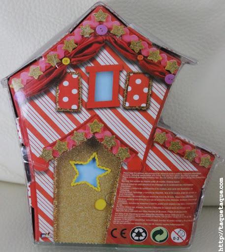 mini Lalaloopsy Peanut Big Top en su caja (vista posterior)