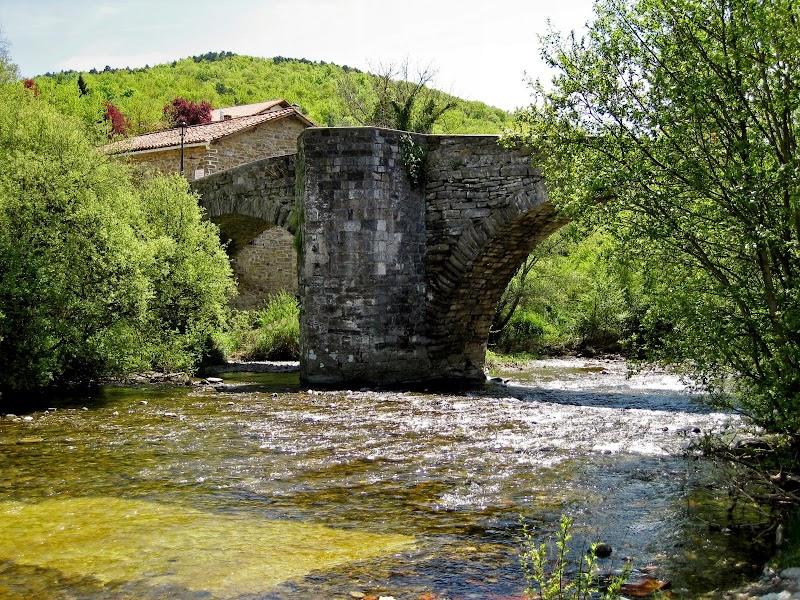 Puente de la Rabia in Zubiri