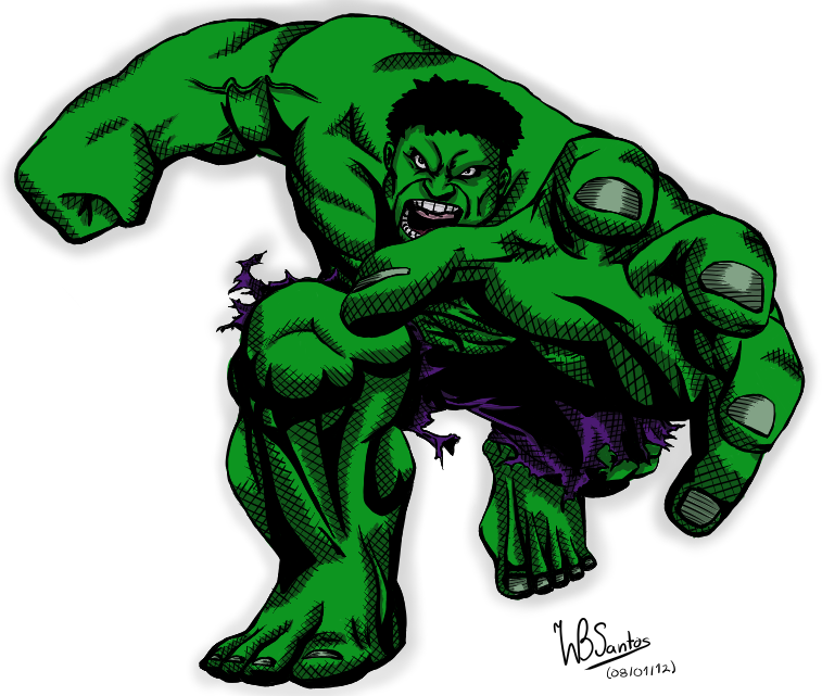 Colored Hulk