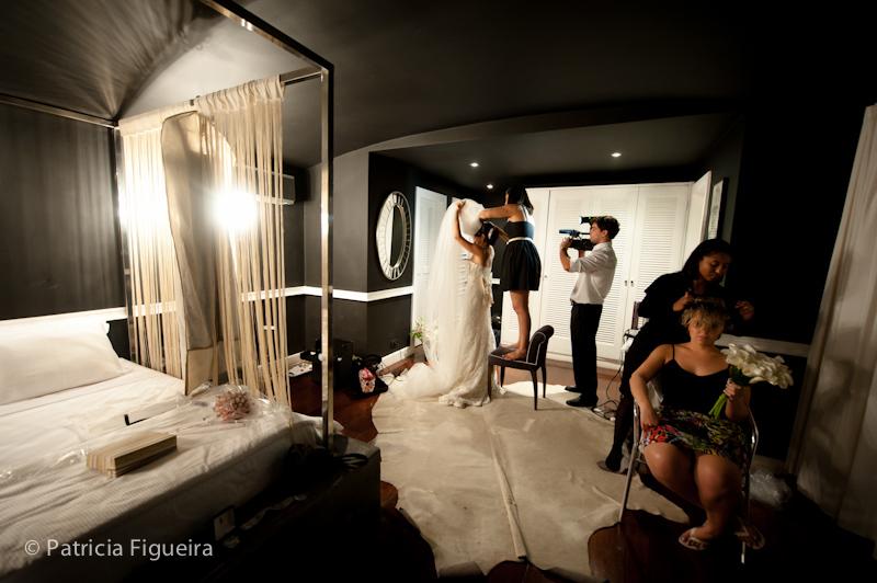 Foto de casamento 0181 de Mônica e Diogo. Marcações: 20/08/2011, Casamento Monica e Diogo, Hotel, Hotel La Suite, Rio de Janeiro.