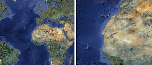 The Richat Structure – Earth's Bull's-Eye ~ Kuriositas