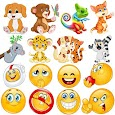 😂Emoji emoticons for whatsapp apk