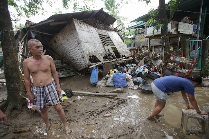 Damage caused by Typhoon Santi in Bulacan, Philippines