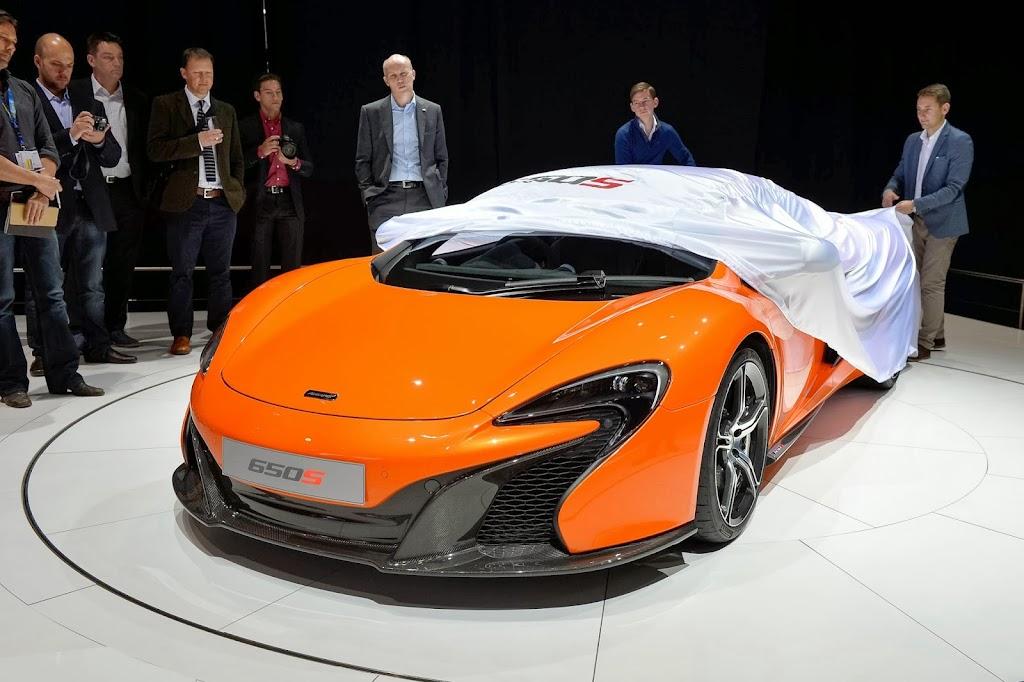 McLaren 650S Spider Geneva Motor Show 18
