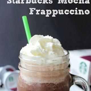 Copycat Starbucks Mocha Frappuccino.
