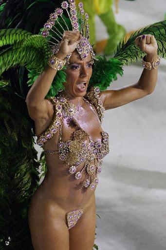Fotos atrevidas del Carnaval de Brasil