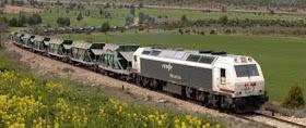 Impulso del transporte por ferrocarril de mercancías siderúrgicas