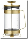 Barista coffee plunge pot