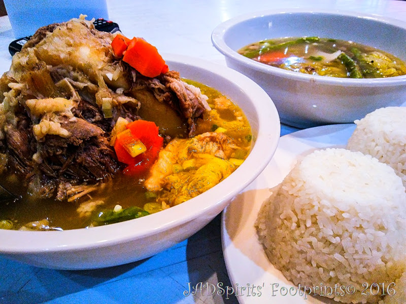 Bulalo for dinner from La Cucina Restaurant at Caliraya Mountain Lake Resort