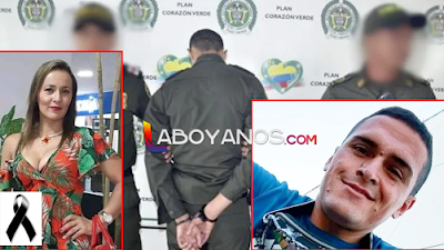 Policía fue capturado por feminicidio de enfermera en Neiva