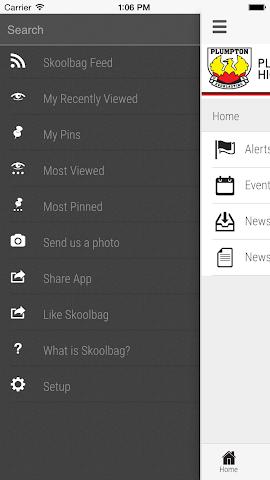 android Plumpton High School Screenshot 2