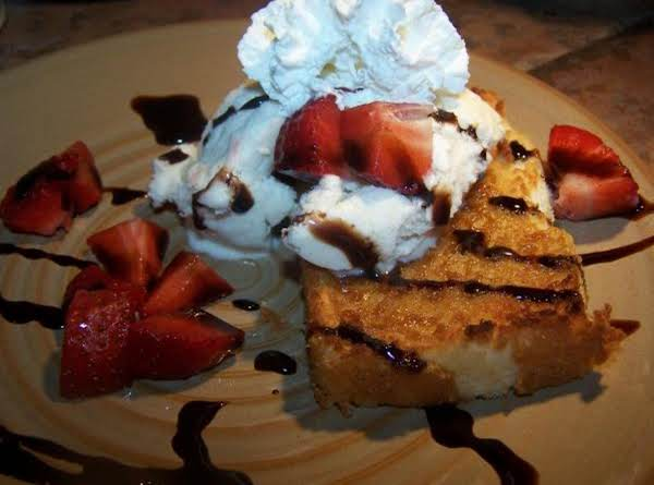 Caramelized Angel Food Cake Recipe