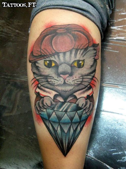 Tattoos e tatuagens de gatos for Tatoo gatos
