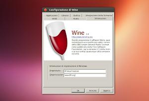 Wine 1.6 su Ubuntu Linux