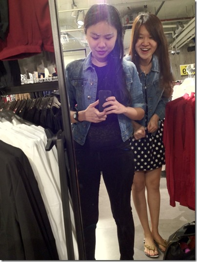 Denim jacket @ Terranova