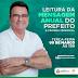 PREFEITO IVANILDINHO FARÁ HOJE (09) LEITURA DA MENSAGEM ANUAL DE FORMA REMOTA