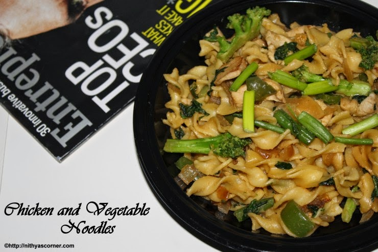 Chicken Vegetable Noodles