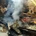 Região: prefeito e funcionários combatem incêndio próximo à prefeitura