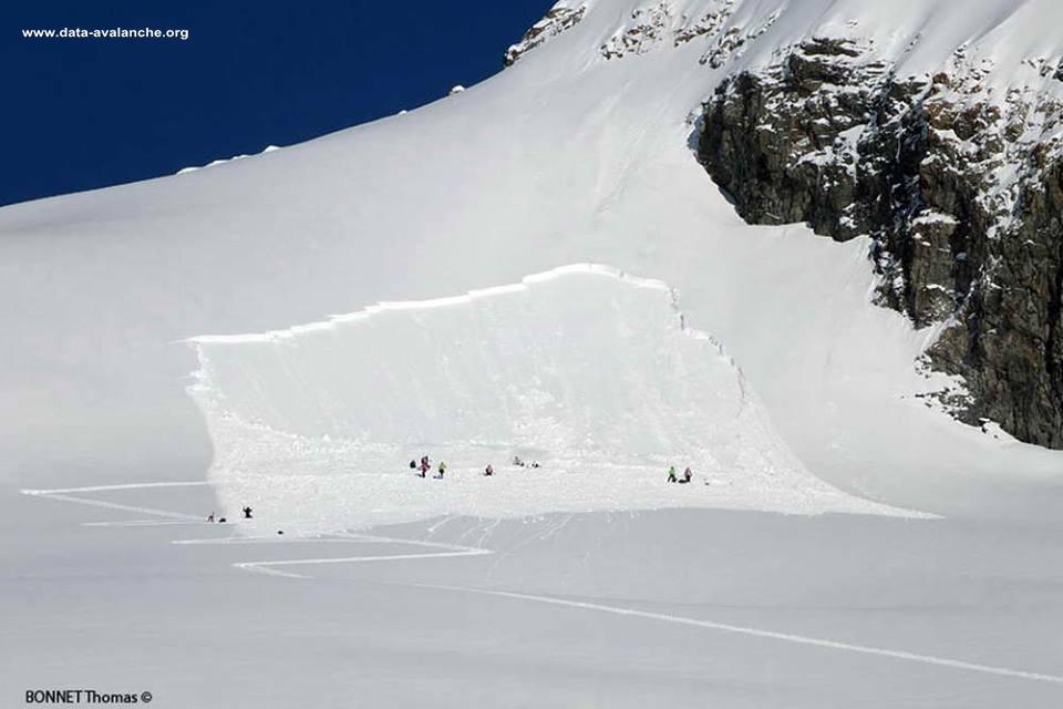 Avalanche Ecrins, secteur Roche Faurio - Photo 1